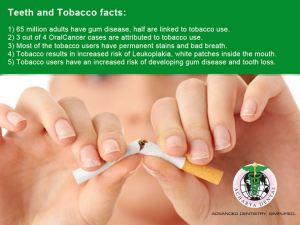 teeth and tobacco facts