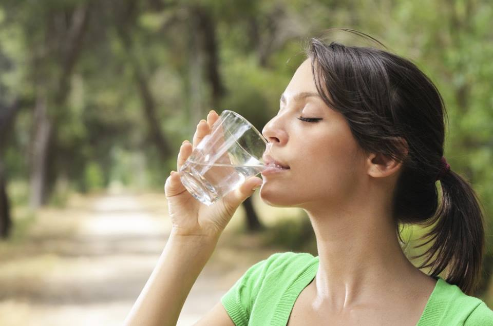 water is good for dental health