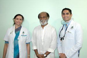 Rajnikanth Dentist Acharya Dental Chennai