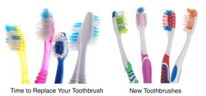 how often replace your toothbrush