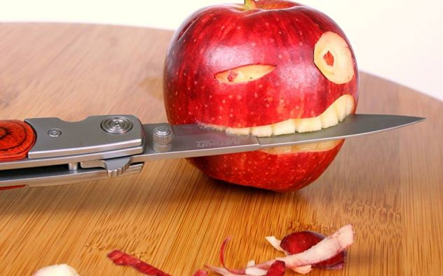 Eat the right kind of crunchy food for your oral health!